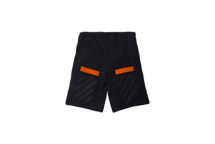 Off-White Orange Box Short – Black