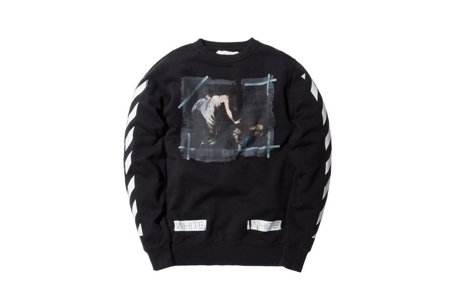 Off-White Caravaggio Crewneck – Black