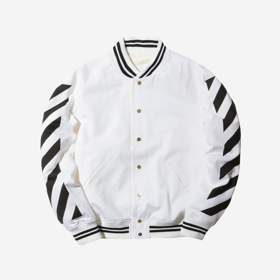 Off-White Varsity Jacket – White