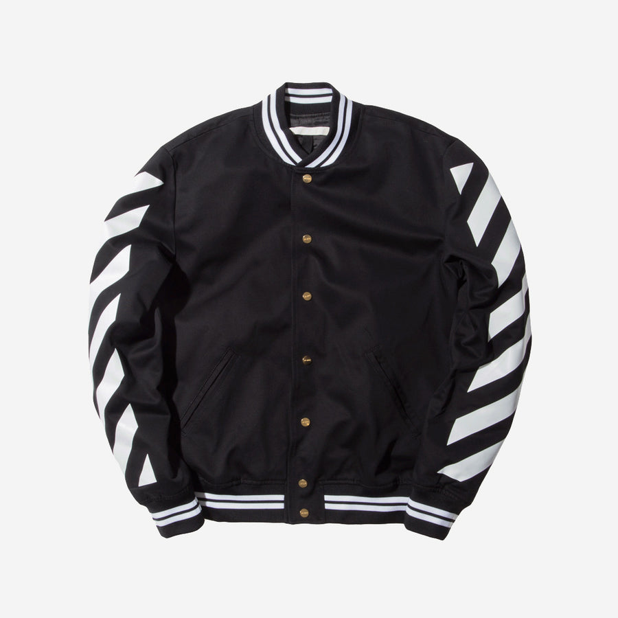 Off-White Varsity Jacket – Black