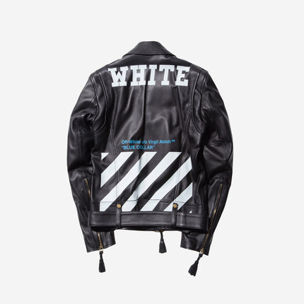Off-White Leather Jacket - Black