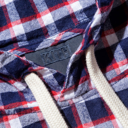 Kith Clinton Pullover - Red Plaid