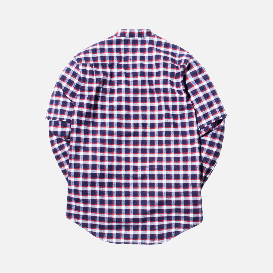 Kith Saratoga L/S Shirt - Red Plaid