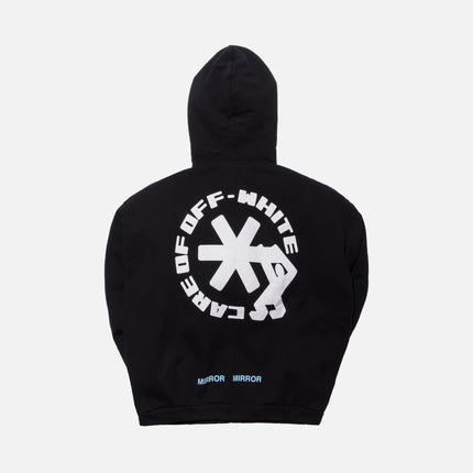 Off-White Care Off Hoodie - Black / White