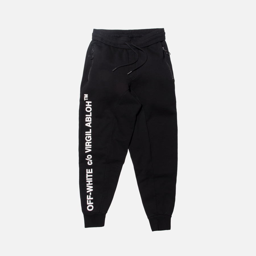 Off-White C/O Virgil Abloh Sweatpants - Black