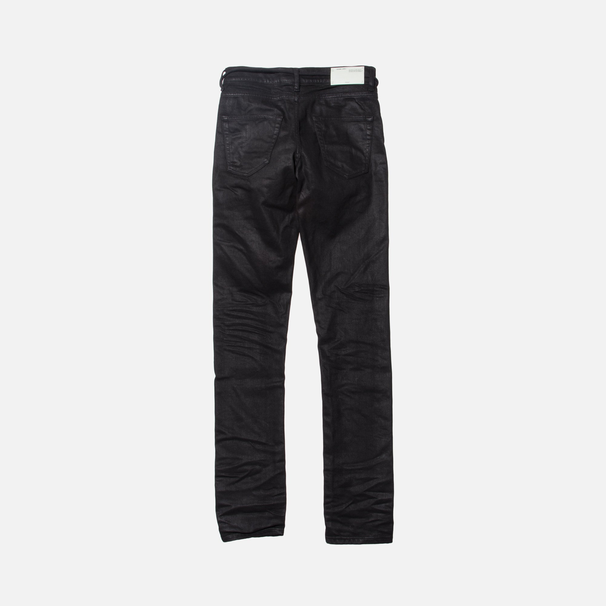 Off-White Mix Rock Slim Denim - Black / Multi