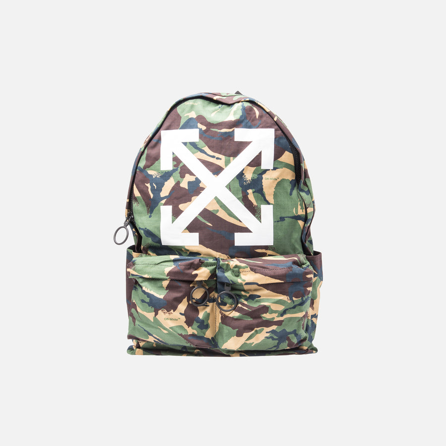 Off-White Arrows Backpack - Camo