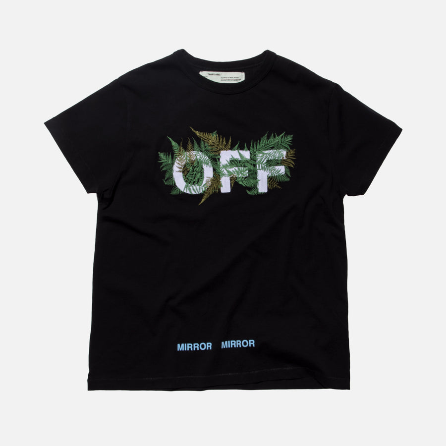 Off-White Ferns Tee - Black