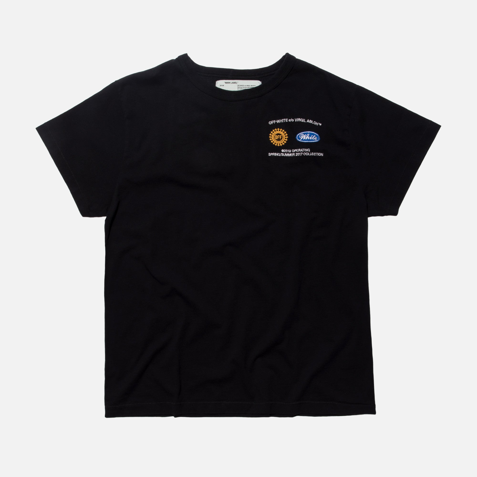 Off-White Work Tee - Black