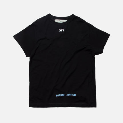 Off-White Care Off Tee - Black / White