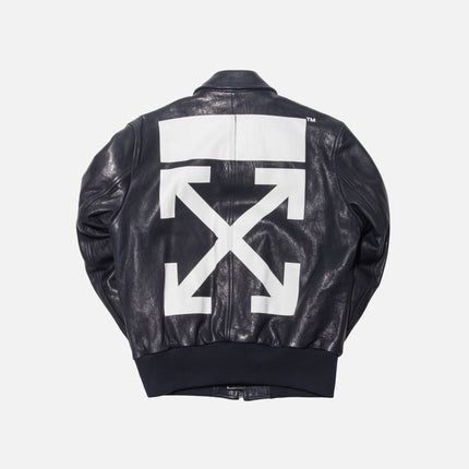 Off-White Aviator Bomber - Blue