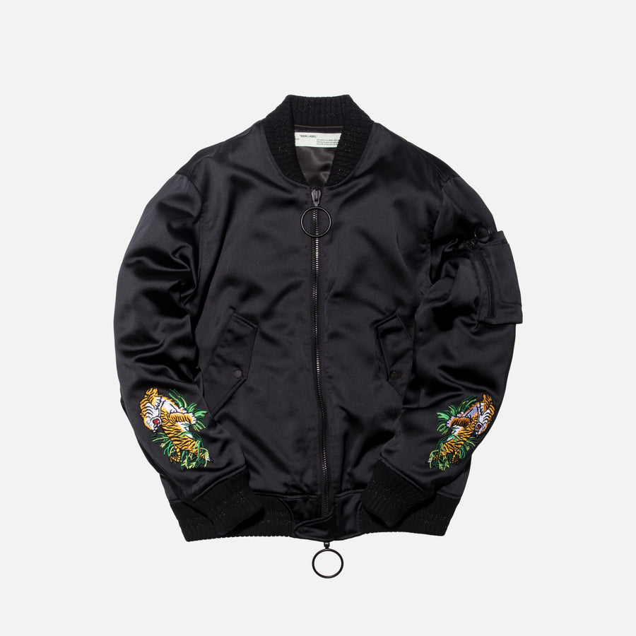 Off-White Souvenir Bomber - Black