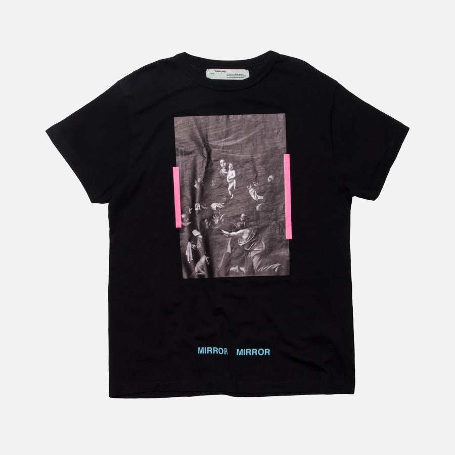 Off-White Caravaggio Tee - Black / Multi