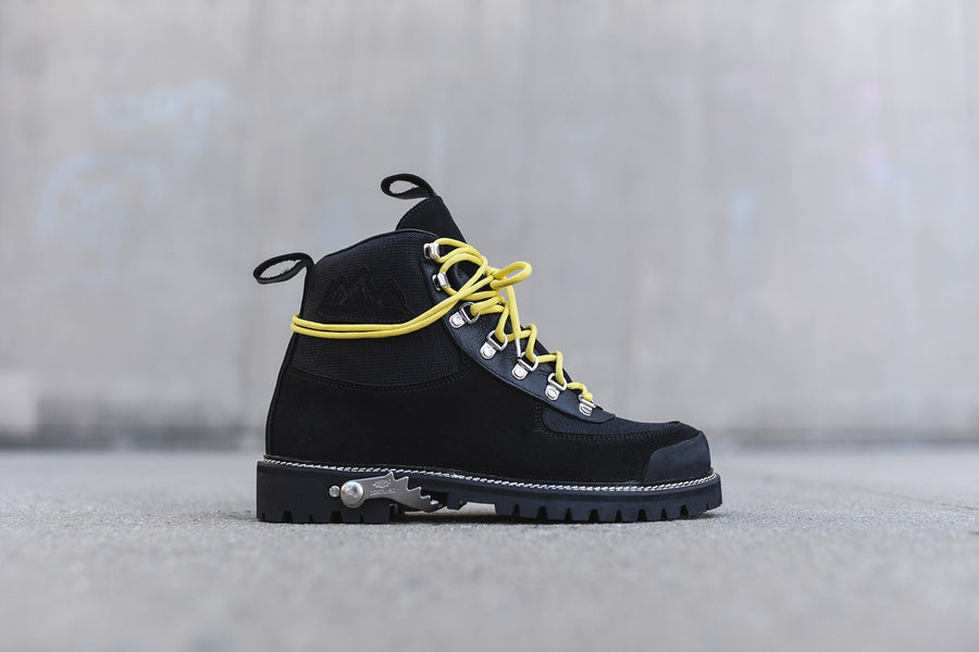 Off-White Cordura Hiking Boot - Black