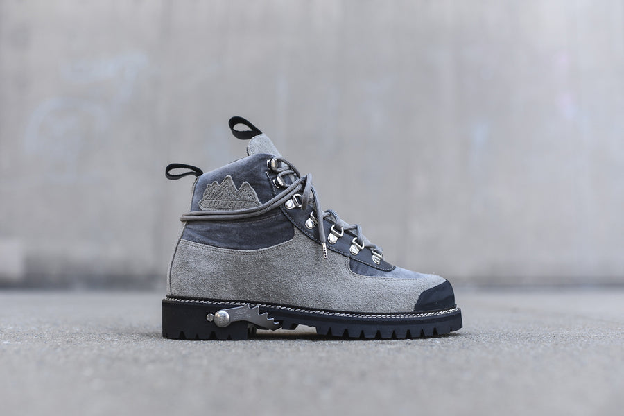 Off-White Cordura Hiking Boot - Ice Grey
