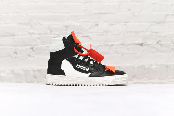 Off-White Low 3.0 Sneaker - Black / White