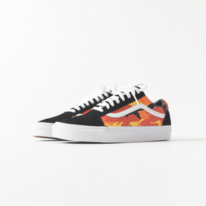 Vans UA Old Skool - Black / Spicy Orange / True White