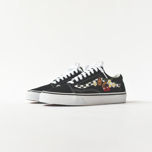 Vans Old Skool Checker Floral - Black