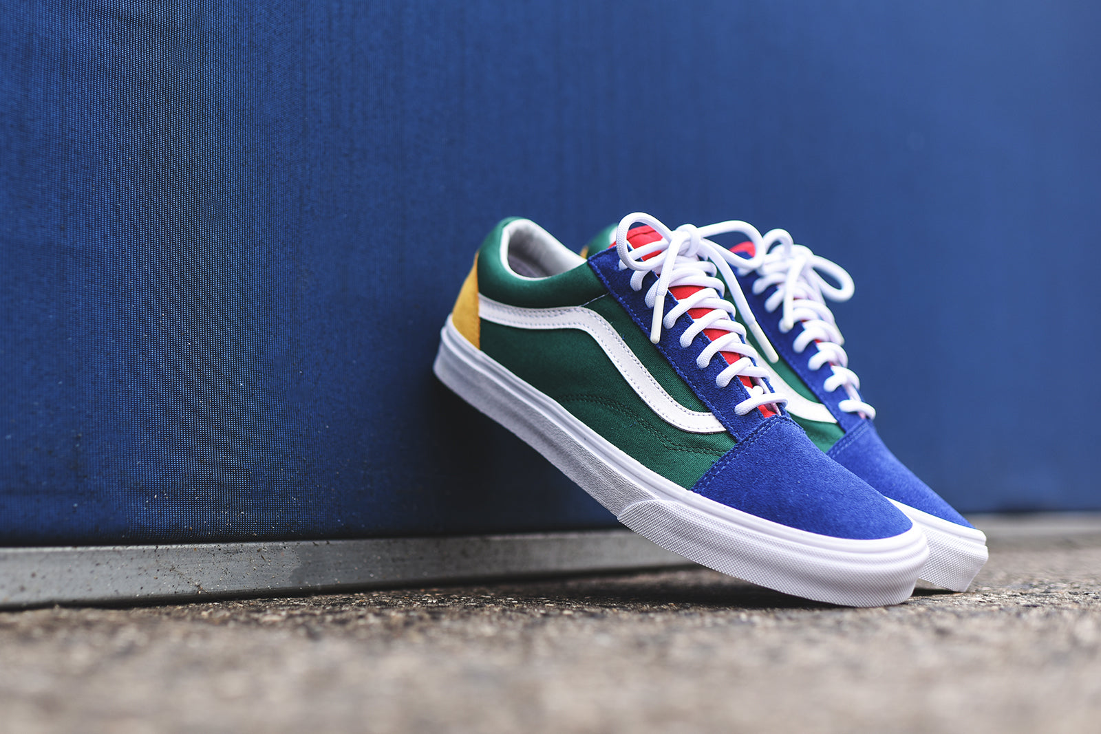 vans old skool yacht club size 8