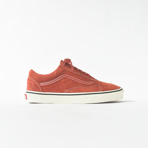 2736158c1b80 Vans Old Skool Hairy Suede - Hot Sauce   Snow White – Kith