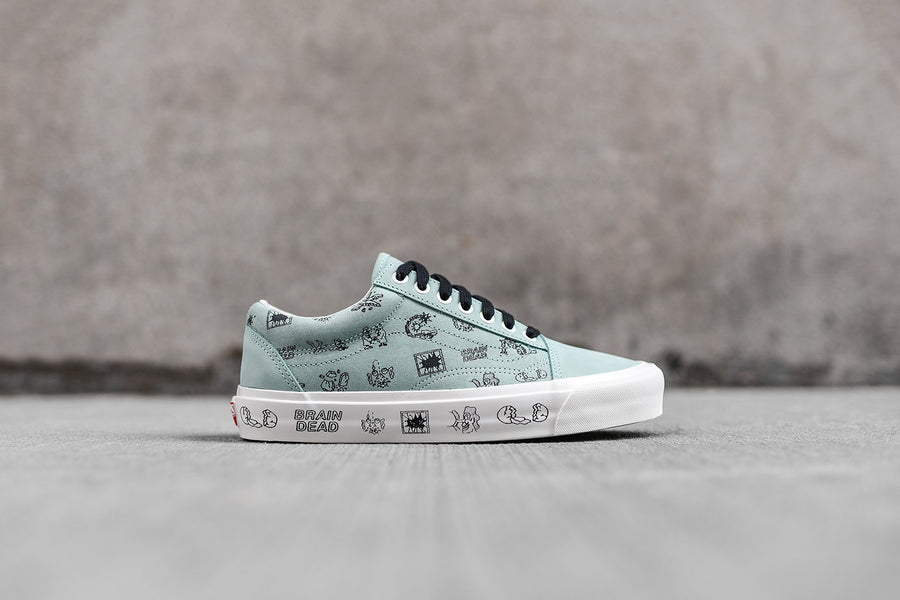 Vans Vault x Brain Dead Old Skool LX - Blue