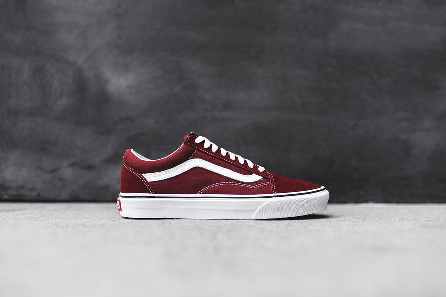 Vans Old Skool - Madder Brown / True White