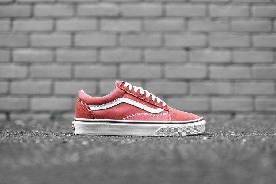 Vans Old Skool - Orange / White