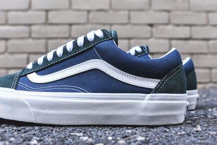 vans old skool blue dress