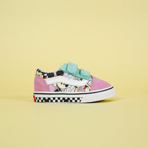 27698fa6a8 Vans x Mickey Mouse Old Skool V - 80 s Mickey   True White