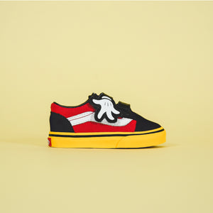 307f96f038 Vans x Mickey Mouse Old Skool V - Mickey Hugs   Yellow – Kith