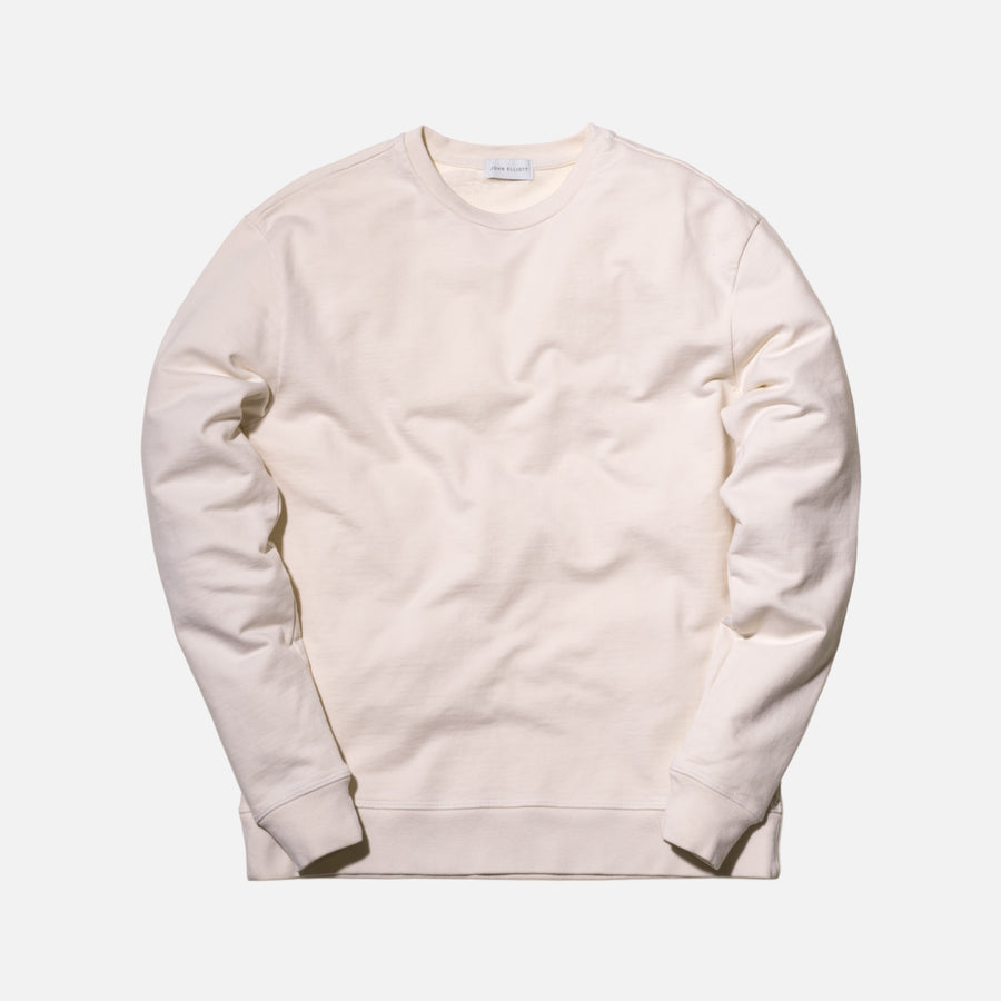 John Elliott Oversized Crewneck - Natural