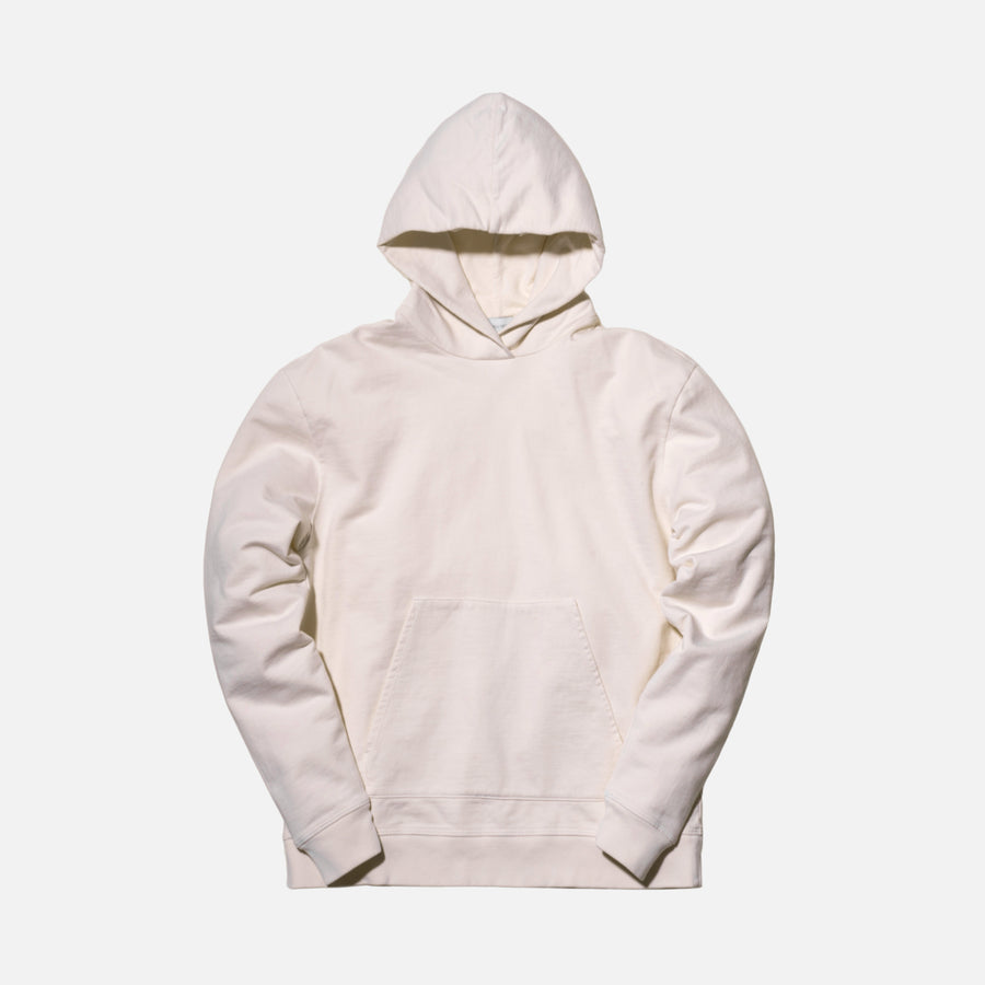 John Elliott Oversized Cropped Hoodie - Natural