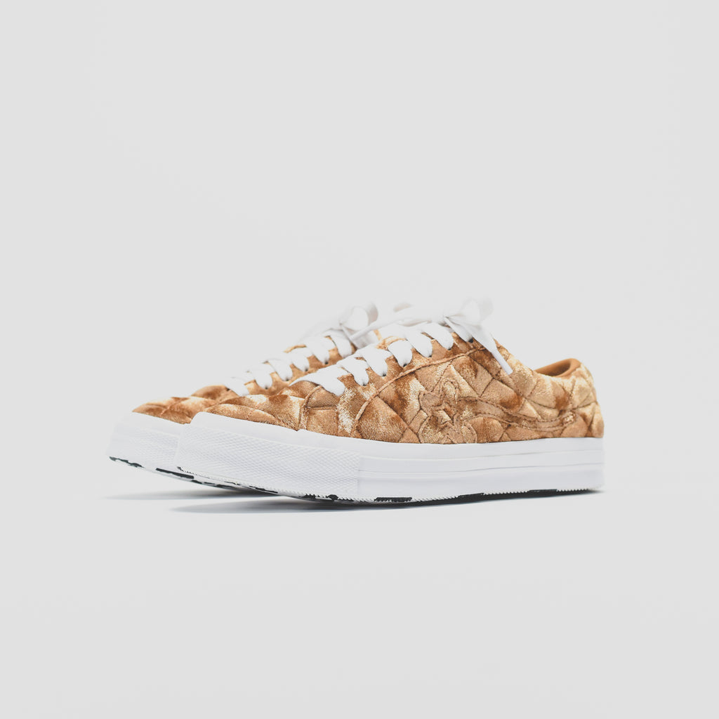488e550d449 Converse x Tyler, the Creator Golf Le Fleur Ox - Brown Sugar – Kith