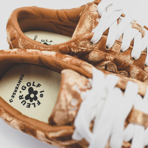 Converse x Tyler, the Creator Golf Le Fleur Ox - Brown Sugar