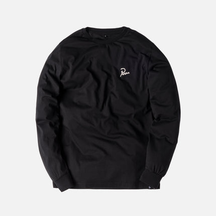 by Parra Flame Holder L/S Tee - Black