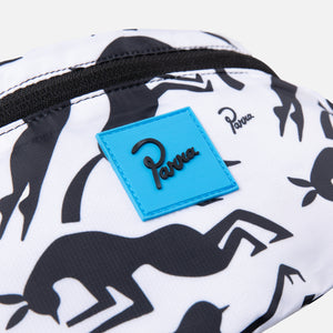 by Parra Workout Woman Horse Waist Pack - White