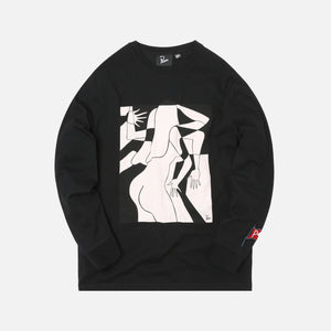 by Parra Artist Businesswoman L/S Tee - Black