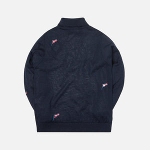 by Parra Flapping Flag Turtleneck - Black