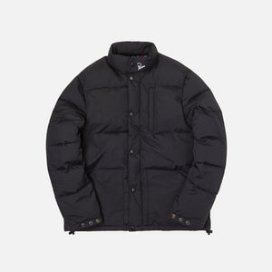 by Parra Grab the Flag Puffer Jacket - Black Image 1