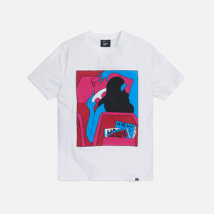 by Parra How to Live Now Tee - White