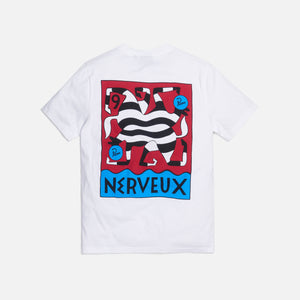 by Parra Nerveux Tee - White