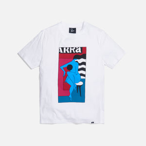 by Parra Bat Stool Tee - White Image 1