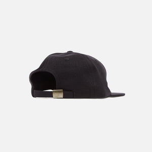 by Parra Surprised 6 Panel Hat - Black