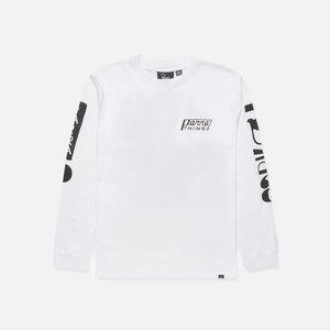 by Parra Things L/S Tee - White