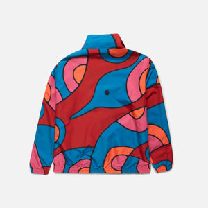 by Parra Serpent Pattern Reversible Track Top - Multi