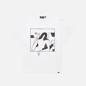 by Parra Lockdown Tee - White