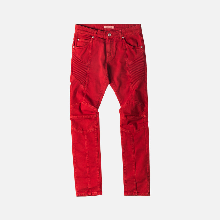 Pierre Balmain Vintage Denim - Red
