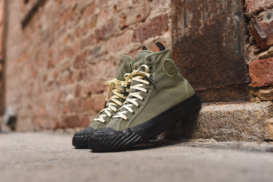 PF Flyer x Todd Snyder Grounder High - Olive / Black
