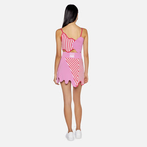 Kith Women x PH5 Striped Top - Mushroom Pink