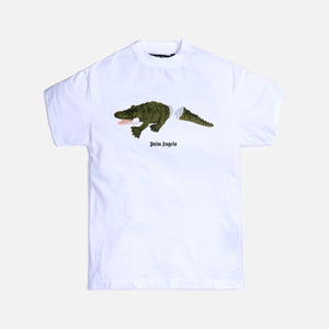 Palm Angels Croco Tee - White